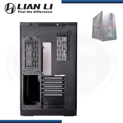 CASE LIAN LI PC-011 DYNAMIC RAZER EDITION SIN FUENTE VENTANA VIDRIO TEMPLADO USB 3.1 /USB 3.0 (PN:011DXRZ)