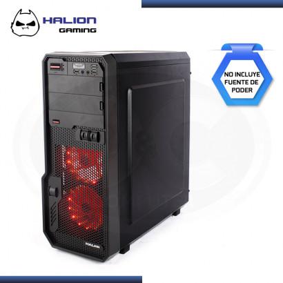 CASE HALION GAMING HUNTER C807 SIN FUENTE VIDRIO TEMPLADO USB 3.0/USB 2.0