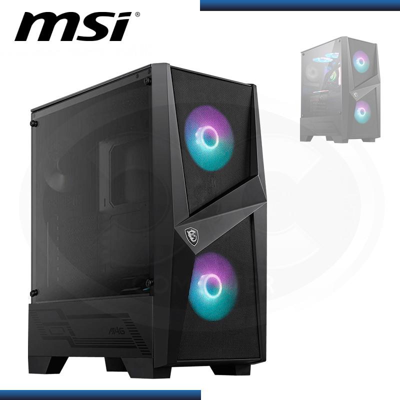 CASE MSI MAG FORGE 100R SIN FUENTE VENTANA VIDRIO TEMPLADO USB 3.2