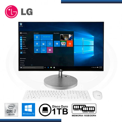 "ALL IN ONE LG 27V70N-G INTEL CORE I7-10510U 27""/ 16GB DDR4/ 1TB/ WIN 10 HOME"