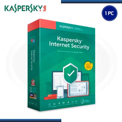 KASPERSKY INTERNET SECURITY 2019 1PC 12 MESES (PN:KL1939DUAFS)