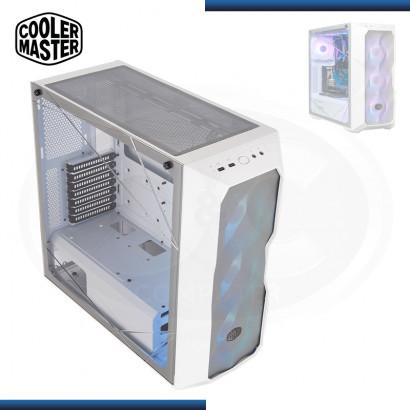 CASE COOLER MASTER MASTERBOX TD500 MESH ARGB WHITE SIN FUENTE VIDRIO TEMPLADO USB 3.2/USB 2.0 (PN: MCB-D500D-WGNN-S01)