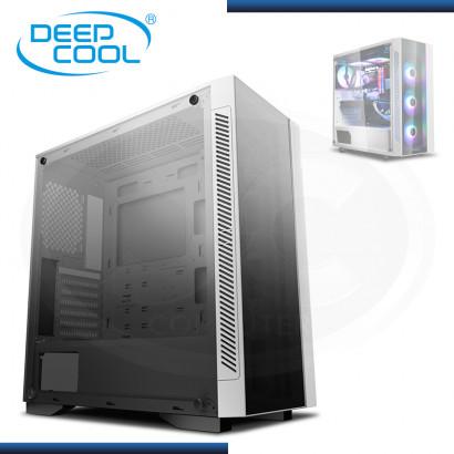 CASE DEEPCOOL MATREXX 55 V3 RGB 3F WHITE SIN FUENTE VIDRIO TEMPLADO USB 3.0/USB 2.0 (PN:DP-ATX-MATREXX55V3-AR-WH-3F)