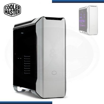 CASE COOLER MASTER MASTERCASE SL600M PANEL ALUMINIO SIN FUENTE VIDRIO TEMPLADO USB 3.1/USB 3.0/USB 2.0 (PN:MCM-SL600M-SGNN-S00)