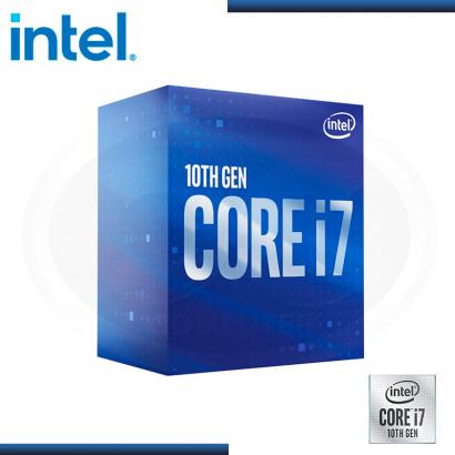 PROCESADOR INTEL CORE I7-10700F 2.90GHZ/16MB LGA1200 (PN:BX8070110700F)