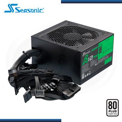 FUENTE SEASONIC A12 600W 80 PLUS WHITE (PN:SSR-600RA)