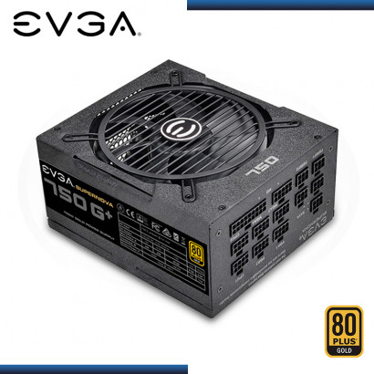 FUENTE EVGA SUPERNOVA 750G+ 750W FULL MODULAR 80 PLUS GOLD (PN:120-GP-0750-X1)