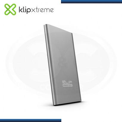 KLIP XTREME ENOX 10000 MAH KBH 195SV GRIS BATERIA PORTATIL