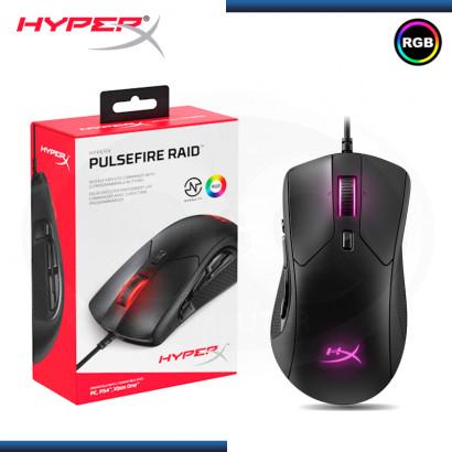 MOUSE HYPERX PULSEFIRE RAID RGB BLACK16000 DPI (PN:HX-MC005B)