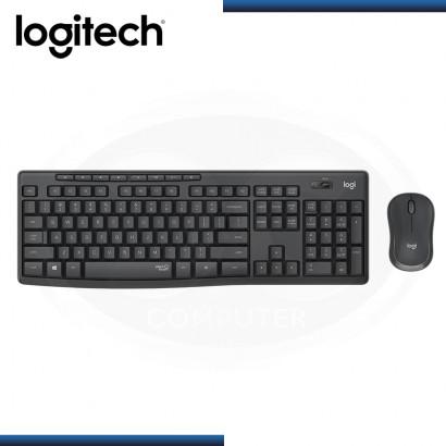 KIT LOGITECH MK295 SILENT TOUCH WIRELESS TECLADO + MOUSE USB BLACK (PN:920-009792)