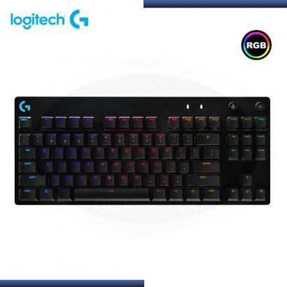 TECLADO LOGITECH PRO RGB SIN NUMERICO USB BLACK (PN: 920-009388)
