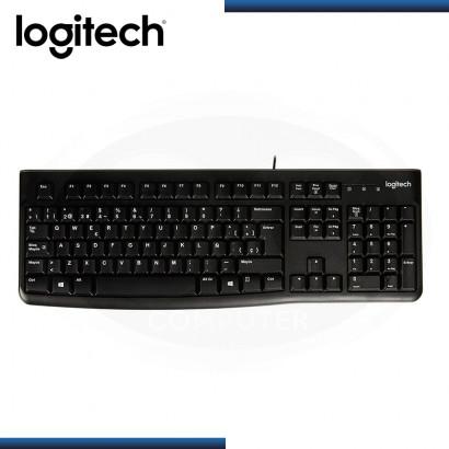 TECLADO LOGITECH K120 ESTANDAR SP USB BLACK (PN:920-004422)