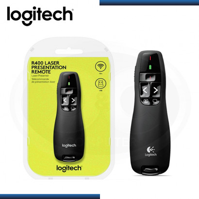 PUNTERO LOGITECH R400 WIRELESS PRESENTER (PN:910-001354)