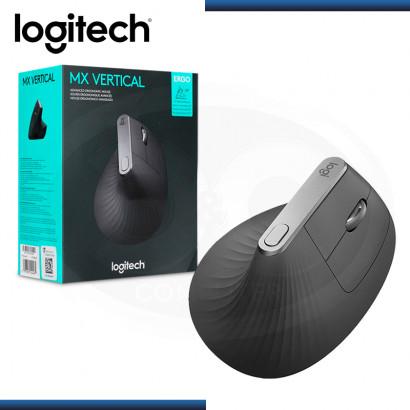 MOUSE LOGITECH MX VERTICAL ERGONOMICO BLUETOOH USB BLACK (PN:910-005447)
