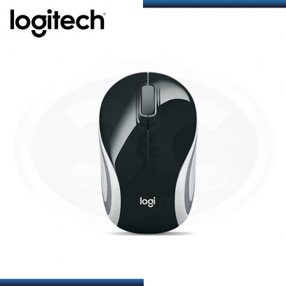 MOUSE LOGITECH M187 MINI REFRESH BLACK WIRELESS (PN:910-005459)