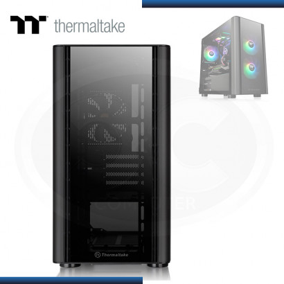 CASE THERMALTAKE VERSA V150 TG ARGB SIN FUENTE VIDRIO TEMPLADO BLACK USB 3.0/USB 2.0 (PN:CA-1R1-00S1WN-00)