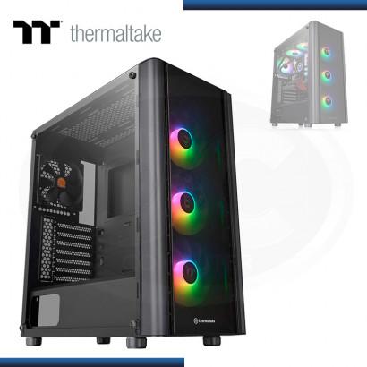 CASE THERMALTAKE VERSA V250 TG ARGB SIN FUENTE VIDRIO TEMPLADO BLACK USB 3.0/USB 2.0 (PN:CA-1Q5-00M1WN-00)