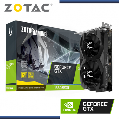 ZOTAC GAMING GEFORCE GTX 1660 SUPER 6GB GDDR6 192BITS TWIN FAN (PN:EAN-13/4895173619977)