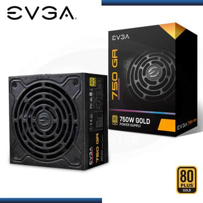 FUENTE EVGA SUPERNOVA 750 GA 750W 80 PLUS GOLD (PN:220-GA-0750-X1)