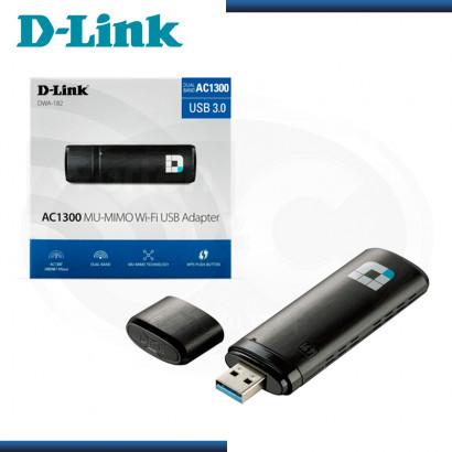 ADAPTADOR USB D-LINK DWA-182 AC 1300MBPS WIFI USB 3.0