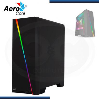 CASE AEROCOOL CYLON SIN FUENTE VIDRIO TEMPLADO USB 3.0/USB 2.0 (PN:4718009152335)