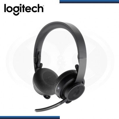 AUDIFONO LOGITECH ZONE CON MICROFONO WIRELESS BLACK USB (PN:981-000797)