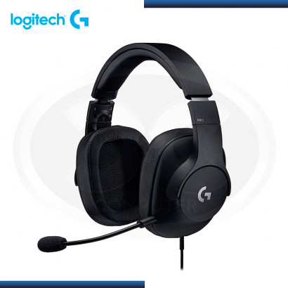 AUDIFONO LOGITECH G PRO CON MICROFONO GAMING BLACK (PN:981-000811)