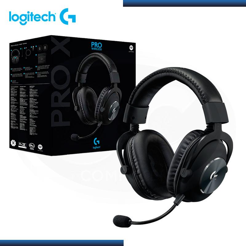 AUDIFONO LOGITECH G PRO X LIGHTSPEED CON MICROFONO WIRELESS BLACK (PN:981-000906)