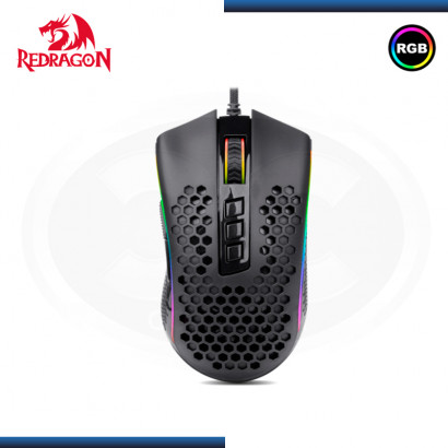 MOUSE REDRAGON M988 RGB STORM ELITE GAMING DPI 16,000 BLACK