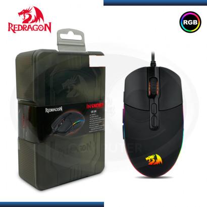 MOUSE REDRAGON INVADER M719 RGB NEGRO 10000 DPI USB (PN:M719)