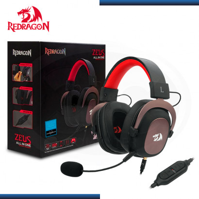 AUDIFONO REDRAGON ZEUS H510 CON MICROFONO GAMING 7.1 VIRTUAL USB