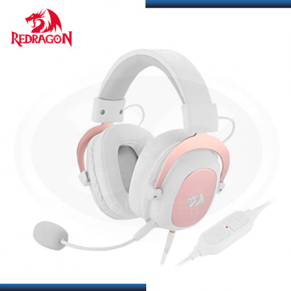 AUDIFONO REDRAGON ZEUS H510 WHITE CON MICROFONO GAMING 7.1 VIRTUAL USB