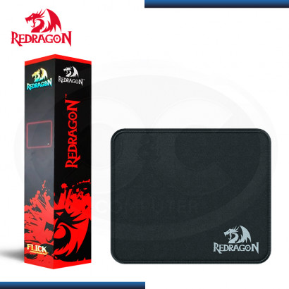 PAD MOUSE REDRAGON FLICK S BLACK 250x210x3mm (PN:P029)