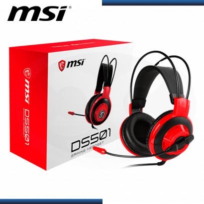 AUDIFONO MSI DS501 GAMING CON MICROFONO BLACK (PN:S37-2100921-SV1)