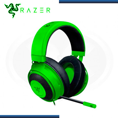 AUDIFONO RAZER KRAKEN  MULTIPLATAFORMA WIRED GREEN (PN:RZ04-02830200-R3U1)