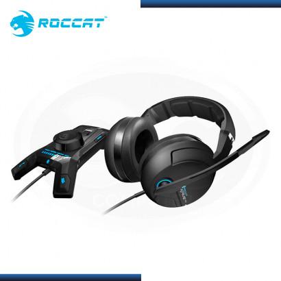 AUDIFONO ROCCAT KAVE XTD 5.1 GAMING CON MICROFONO BLACK (PN:ROC-14-160)