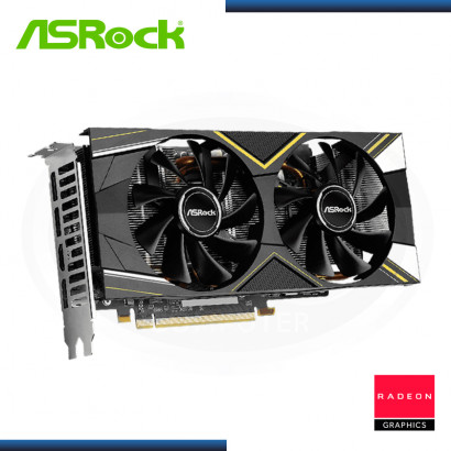 ASROCK RADEON RX 5600 XT 6GB GDDR6 192 BITS CHALLENGER OC (PN:90-GA1XZZ-00UANF)