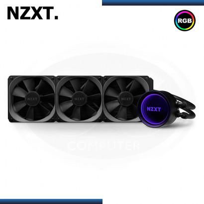 NZXT KRAKEN X73 RGB 360MM BLACK REFRIGERACION LIQUIDO AMD/INTEL (PN:RL-KRX73-01)