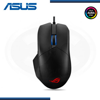 MOUSE ASUS ROG CHAKRAM CORE P511 RGB USB BLACK (PN:90MP01T0-BMUA00)