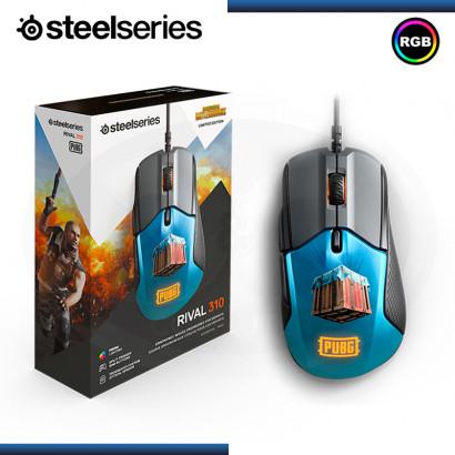 MOUSE STEELSERIES RIVAL 310 PUBG PRISMA RGB USB (PN:62435)
