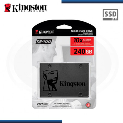 "SSD 240GB KINGSTON SSDNOW A400 SATA3 2.5"" (PN:SA400S37/240G)"