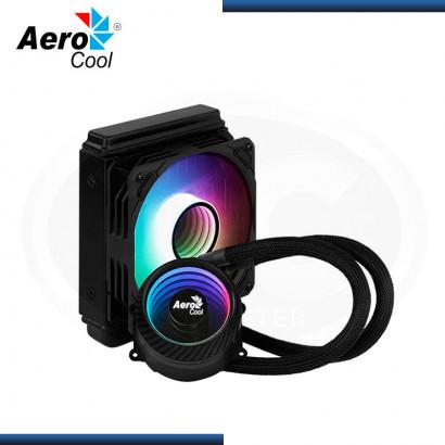 AEROCOOL MIRAGE L120 ARGB BLACK REFRIGERACION LIQUIDO AMD/INTEL (PN:4710562755985)