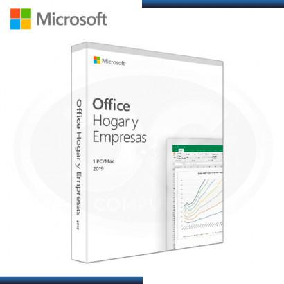 MICROSOFT OFFICE HOGAR Y EMPRESAS ESD 1PC  2019 ESPAÑOL (PN:T5D-03191L)