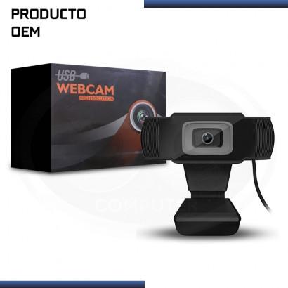 WEBCAM HD CRHD1280N BLACK