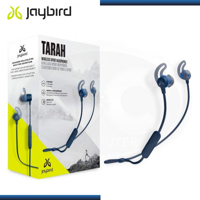 AUDIFONOS JAYBIRD TARAH WATERPROOF BLUETOOTH CON MICROFONO BLUE (PN:985-000711)
