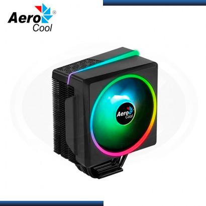 AEROCOOL CYLON 4F ARGB BLACK REFRIGERACION AIRE AMD/INTEL (PN:4710562752724)