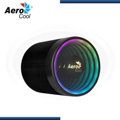 AEROCOOL MIRAGE 5 ARGB BLACK REFRIGERACION AIRE AMD/INTEL (PN:4710562756036)