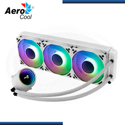 AEROCOOL MIRAGE L360 ARGB WHITE REFRIGERACION LIQUIDO AMD/INTEL (PN:4710562759167)