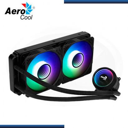 AEROCOOL MIRAGE L240 ARGB BLACK REFRIGERACION LIQUIDO AMD/INTEL (PN:4710562755992)