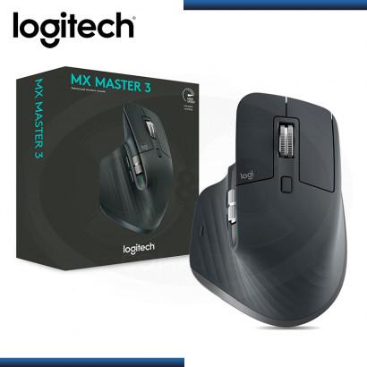 MOUSE LOGITECH MX MASTER 3 WIRELESS BLACK SILVER (PN:910-005647)
